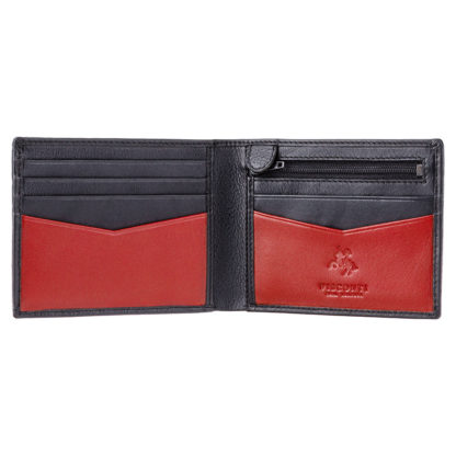 Кошелек мужской Visconti VSL20 Sword c RFID (Black Red)
