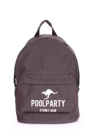 Рюкзак молодежный POOLPARTY (серый)