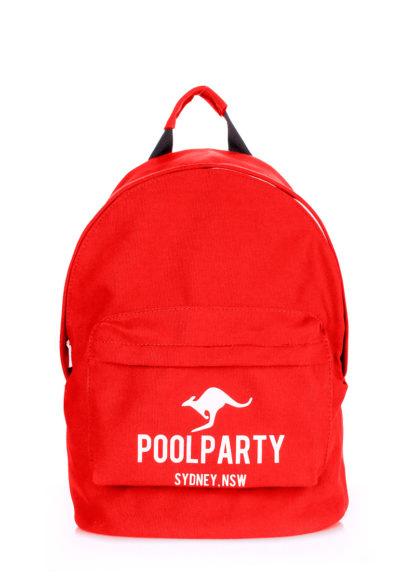 Рюкзак молодежный POOLPARTY (красный)