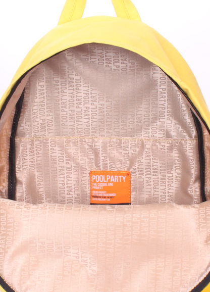 Рюкзак молодежный POOLPARTY желтый