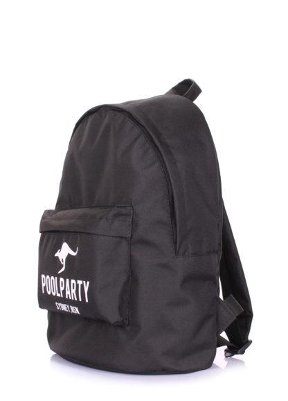 Рюкзак молодежный POOLPARTY черный