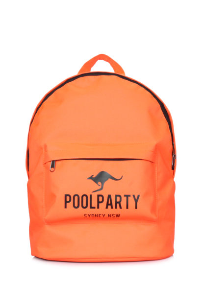Повседневный рюкзак POOLPARTY оранжевый