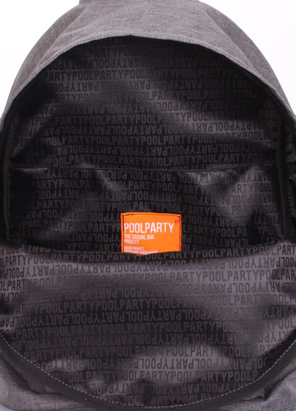 Молодежный рюкзак POOLPARTY серый