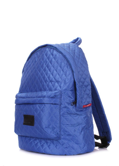 Рюкзак стеганый POOLPARTY синий