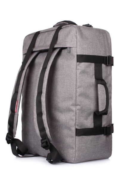 Сумка-рюкзак  для ручной клади Cabin - 55x40x20 МАУ серый