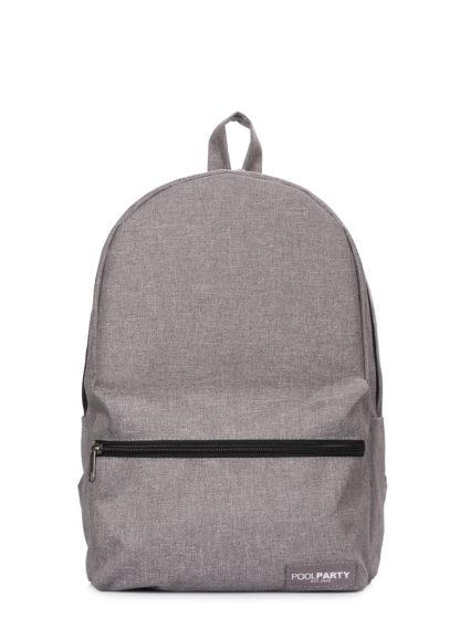 Повседневный городской рюкзак Hike серый