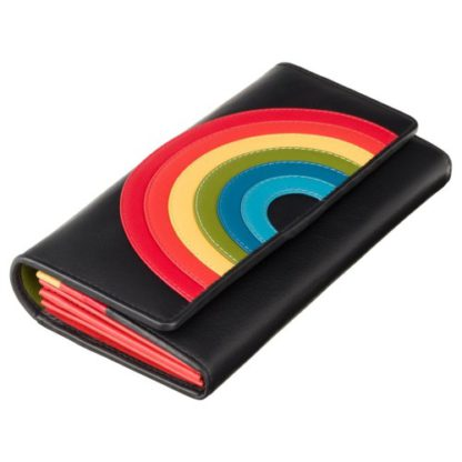 Кошелек женский Visconti HR80 (Black Rainbow)
