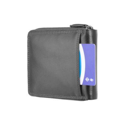 Кошелек мужской Visconti HT14 Camden c RFID (Black)
