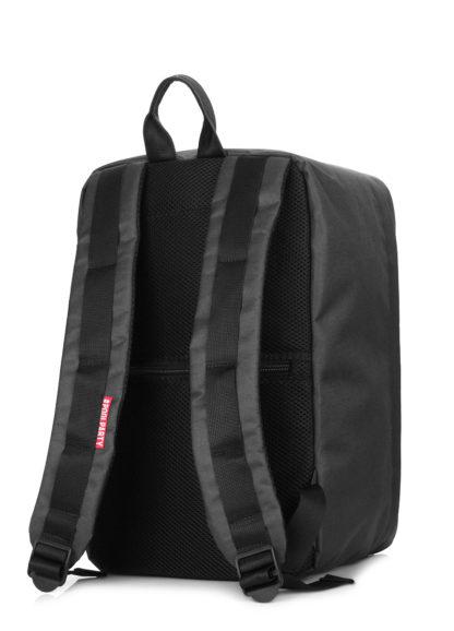 Рюкзак для ручной клади HUB - Ryanair, МАУ, Wizz Air черный
