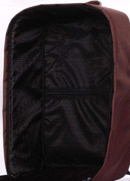 Рюкзак для ручной клади HUB - Ryanair, Wizz Air, МАУ коричневый