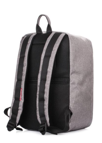 Рюкзак для ручной клади HUB - Ryanair, Wizz Air, МАУ серый