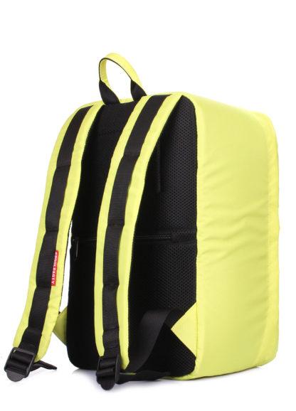 Рюкзак для ручной клади HUB - Ryanair, Wizz Air, МАУ желтый