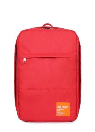 Рюкзак для ручной клади HUB - Ryanair, Wizz Air, МАУ красный