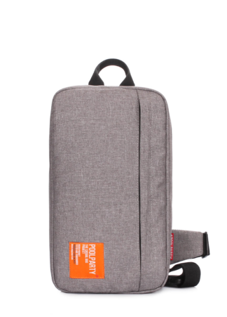Серый рюкзак - слингпек Jet
