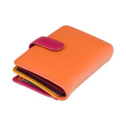 Кошелек женский Visconti RB51 Fiji с RFID (Orange Multi)