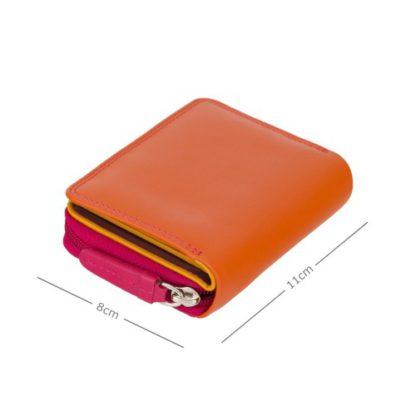 Кошелек женский Visconti RB53 Hawaii с RFID (Orange Multi)