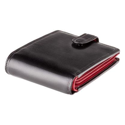 Кошелек мужской Visconti TR35 Atlantis c RFID (Black Red)