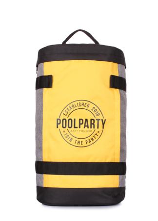 Молодежный рюкзак Tracker с принтом желтый