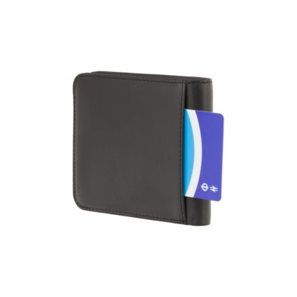 Кошелек мужской Visconti VSL35 Trim c RFID (Black-Cobalt)
