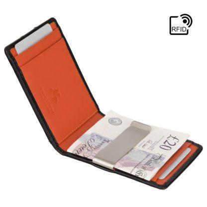 Зажим для купюр Visconti VSL57 (Black Monza/Orange)