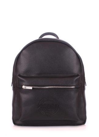 Рюкзак женский кожаный POOLPARTY XS черный