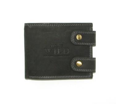 Кошелек мужской Always Wild 2900-BIC BLACK