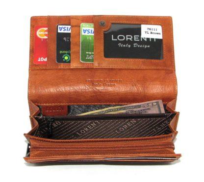 Кошелек женский Lorenti L76111-YL BROWN