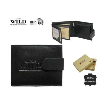 Кошелек мужской Always Wild N0035L-SCR/3193 Black