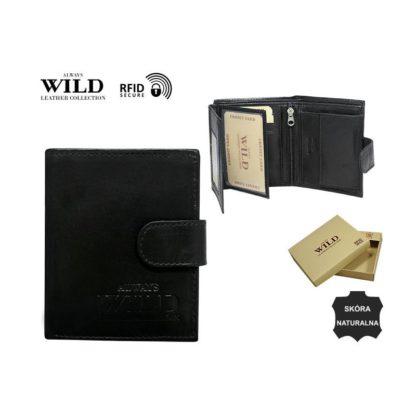 Кошелек мужской Always Wild N0036L-SCR/3179 Black