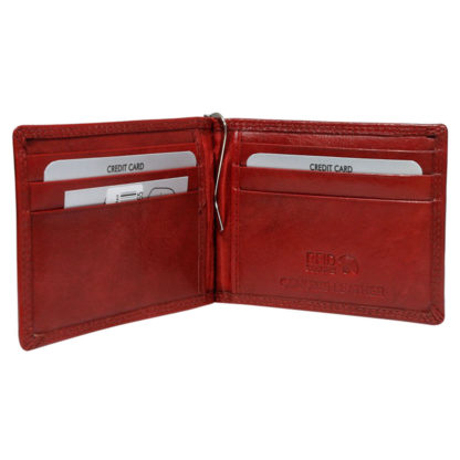 Зажим для денег женский Rovicky N1908-RVTK Red