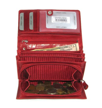 Кошелек женский Rovicky N22-VIT-0171 RED