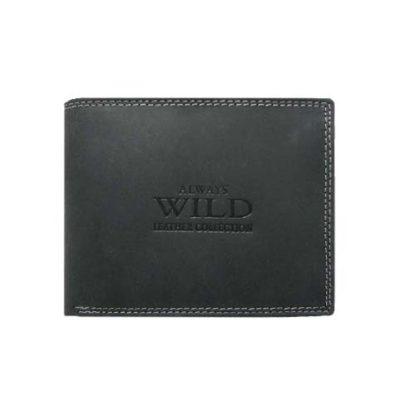 Кошелек мужской Always Wild N992L-MCR Black