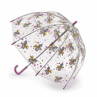 Зонт-трость детский Fulton Funbrella-4 C605 Bella The Unicorn (Единорожки)