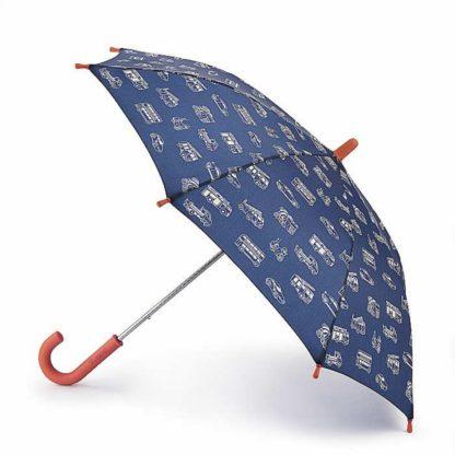 Зонт-трость детский Cath Kidston by Fulton Junior-4 C886 Mono Transport