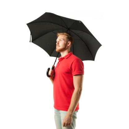 Зонт-трость мужской Fulton Minister G809 Black (Черный)