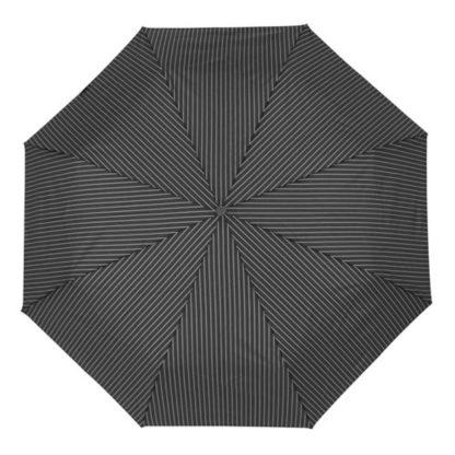 Зонт мужской Fulton Chelsea-2 G818 Black Steel (Черный с серым)