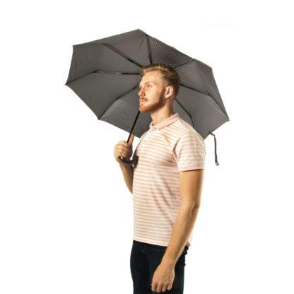 Зонт мужской Fulton Chelsea-2 G818 Grey (Серый)