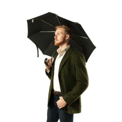 Зонт мужской Fulton Open&Close-11 G820 Black (Черный)