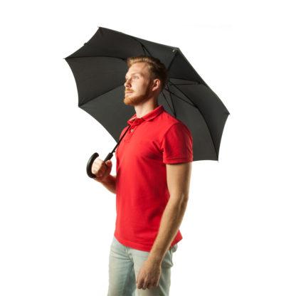 Зонт-трость мужской Fulton Shoreditch-2 G832 Cross Print (Елочка)