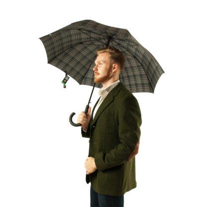 Зонт-трость мужской Fulton Shoreditch-2 G832 Menzies (Клетка)