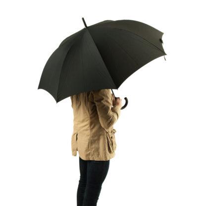 Зонт-трость мужской Fulton Typhoon-1 G844 Black (Черный)