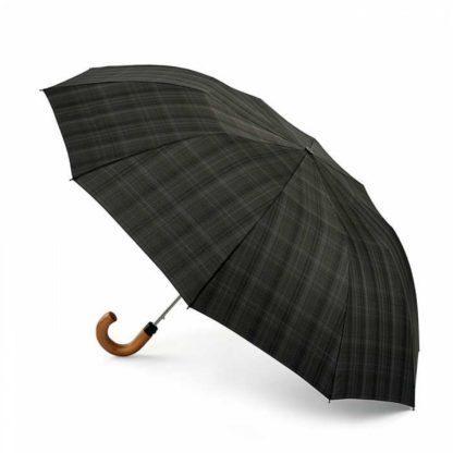 Зонт мужской Fulton Dalston-2 G857 Charcoal Check (Клетка)
