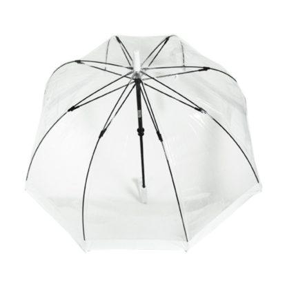 Зонт-трость женский Fulton Birdcage-1 L041 White (Белый)