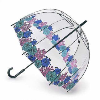 Зонт-трость женский Fulton Birdcage-2 L042 Moody Rose (Капризная Роза)