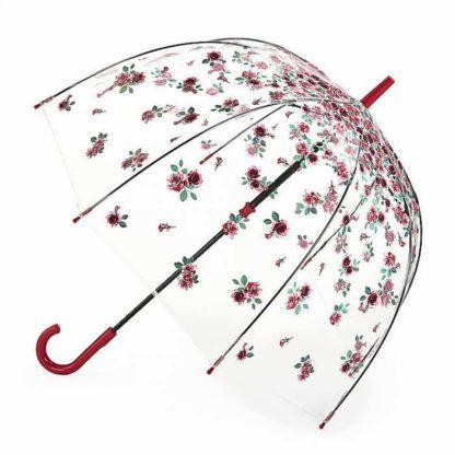Зонт-трость женский Fulton Birdcage-2 L042 Rose Bud (Розовый бутон)