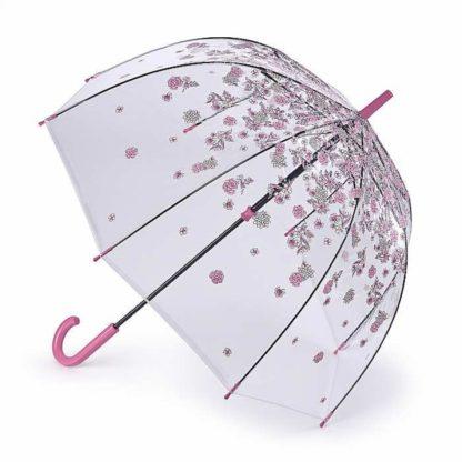 Зонт-трость женский Fulton L042 Birdcage-2 Sketchy Springs (Весна)