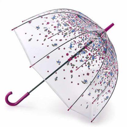 Зонт-трость женский Fulton Birdcage-2 L042 Tumble Down Petals (Опадающие Лепестки)