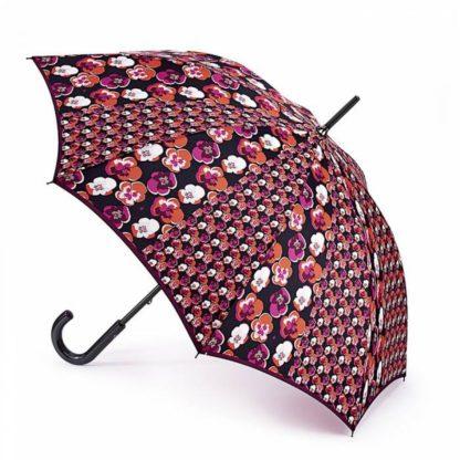 Зонт-трость женский Fulton Kensington-2 L056 Contrast Retro (Контрастное ретро)