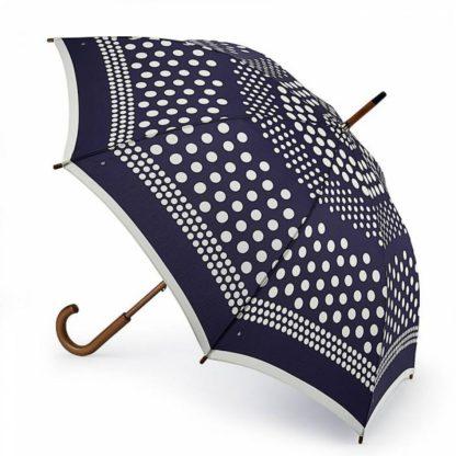 Зонт-трость женский Fulton Kensington-2 L056 Nautical Spot (Круги)