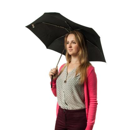 Зонт Fulton Minilite-1 L353 Black (Черный)